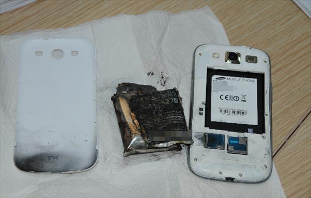 Samsung Yine Patladı