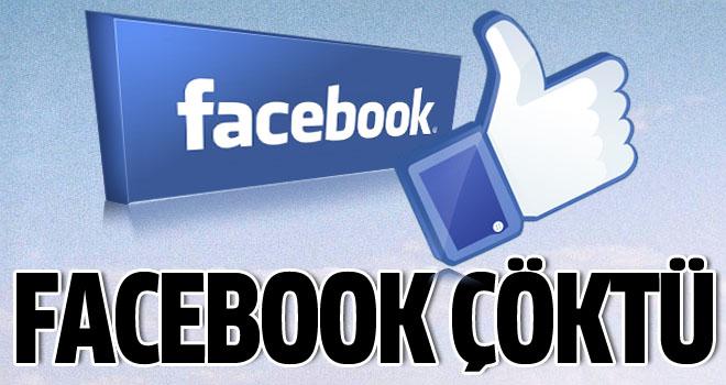 Facebook Dünya çapında çöktü