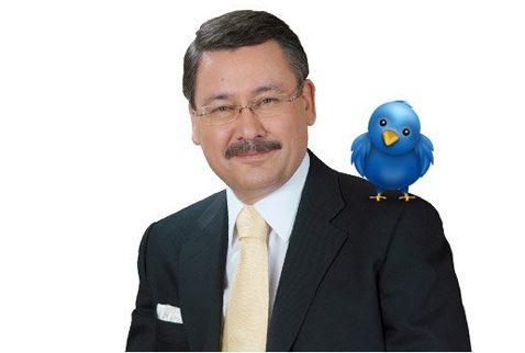 Melih Gökçek'in Twitter Hesabı Hacklendi