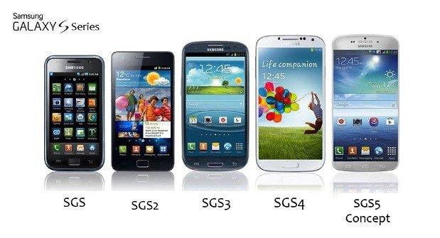 Samsung'un rekoru Galaxy S5'in oldu