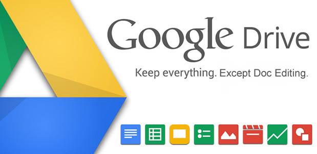 Google Drive Belge Düzenlemeyecek