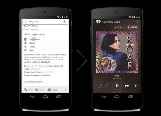 Google'dan Müzik Arama ve Müzik Çalma Çalışması