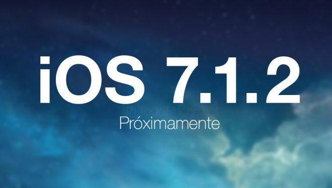 İOS 7.1.2 güncellemesi geldi