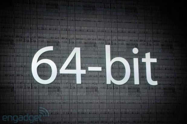 Android telefonlar 64 Bit işlemci ile buluşuyor