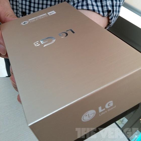 Altın renkli LG G3 modelinin kutusu internete sızdı