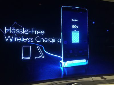LG G3 sahibi olun kablolardan kurtulun