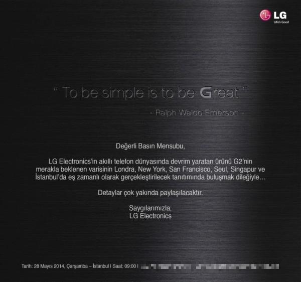 LG G3 Türkiye Lansman Tarihi Belli Oldu