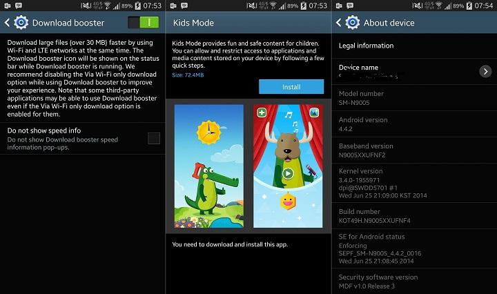 Note 3 İçin Yeni Güncelleme Yayınlandı