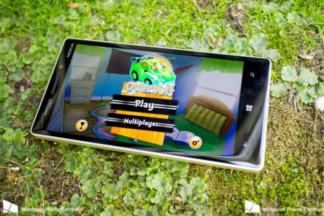 OverVolt: crazy slot cars oyunu Windows Phone için kısa süreliğine ücretsiz