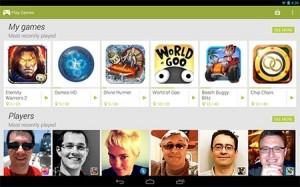 Google Play Games'e Yeni Özellikler Geldi