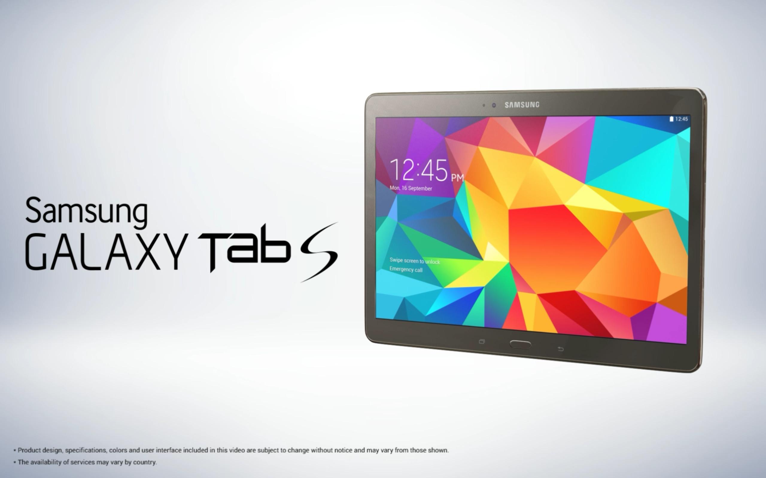 Samsung Tab S Tabletler İçin Yeni Reklam Filmi Yayınladı