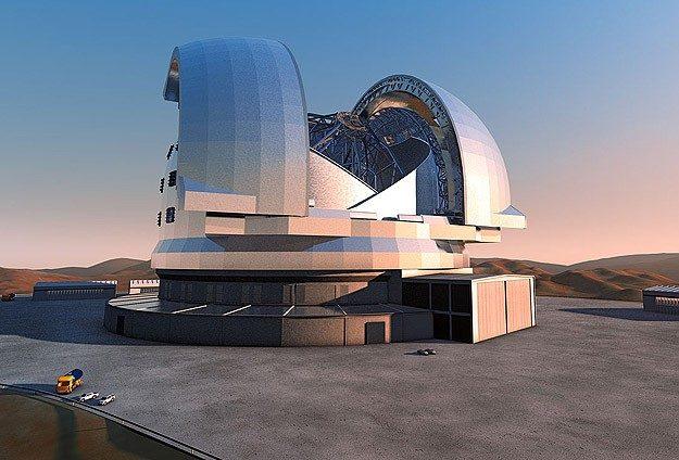 Dünyanın En Gelişmiş Teleskopu İçin İnşa Başladı!