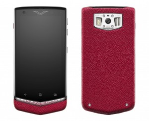 Vertu'dan Lüks Android Telefon